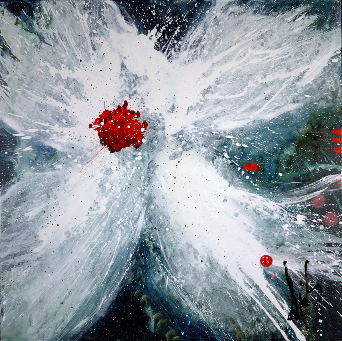 Splash! by danielle o'connor akiyama -  sized 48x48 inches. Available from Whitewall Galleries